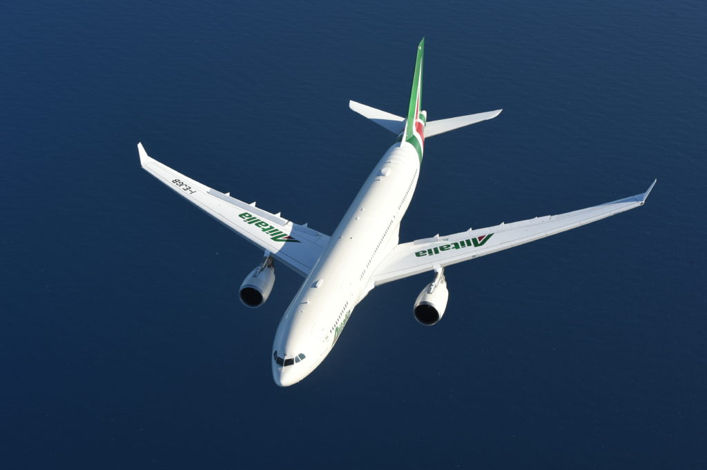 New livery - A330 in flight
